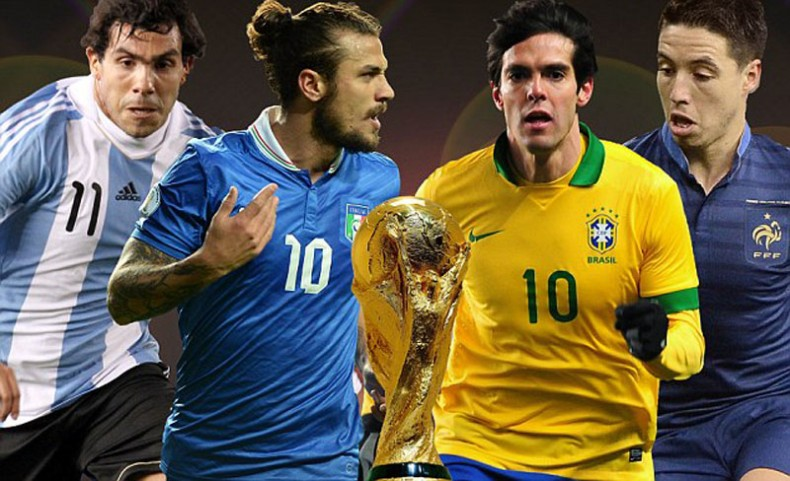 FIFA World Cup 2014 missing football players stars