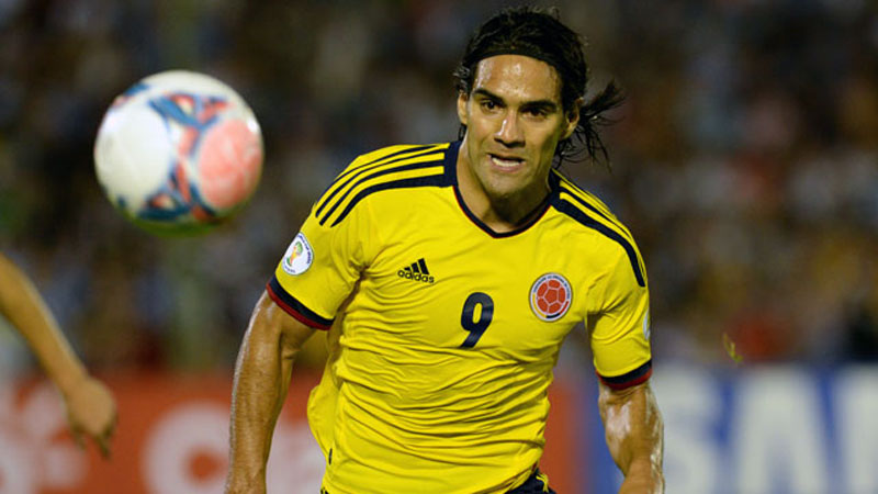 Radamel Falcao in the Colombia National Team