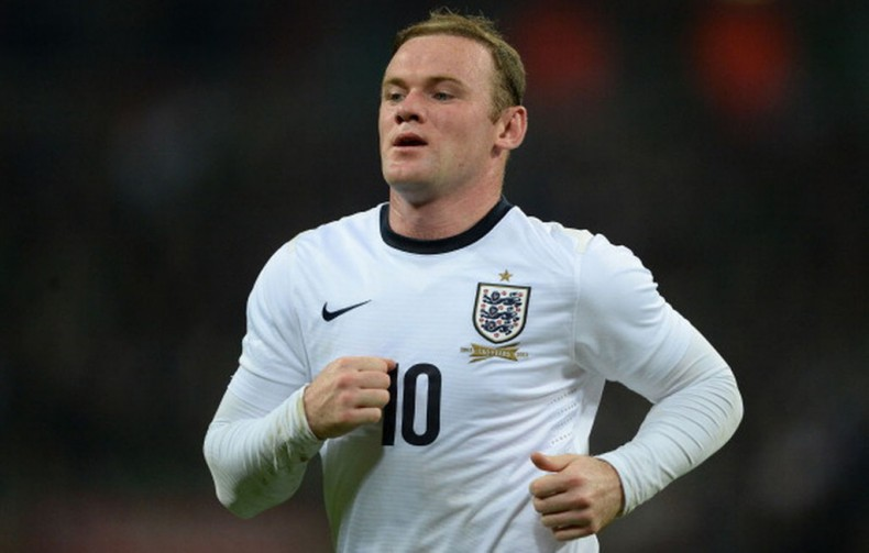 Wayne Rooney in the England National Team