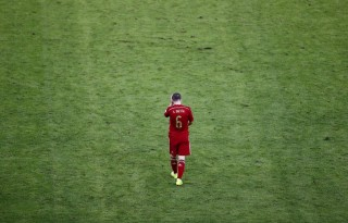 Andrés Iniesta in Spain's FIFA World Cup 2014