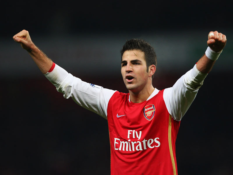 Cesc Fabregas in Arsenal FC, 2003-2011