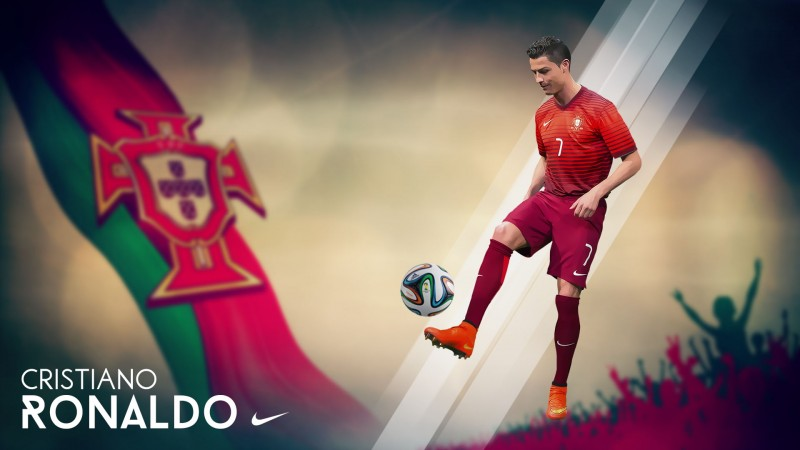 Cristiano Ronaldo Portugal FIFA World Cup 2014 wallpaper