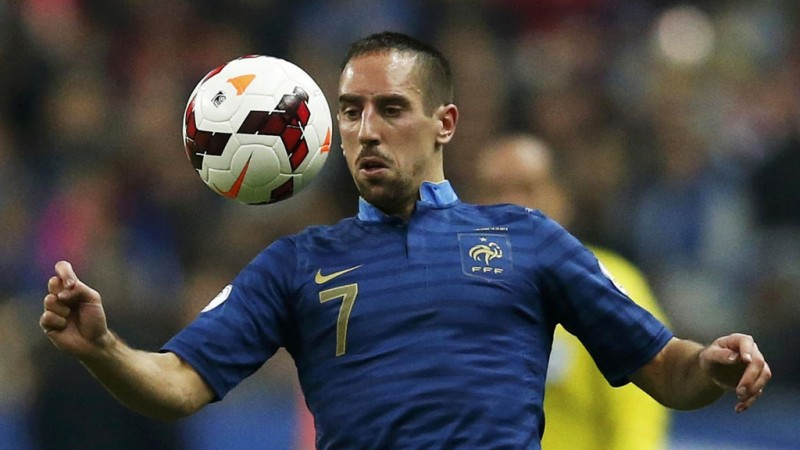 Franck Ribery in the France National Team