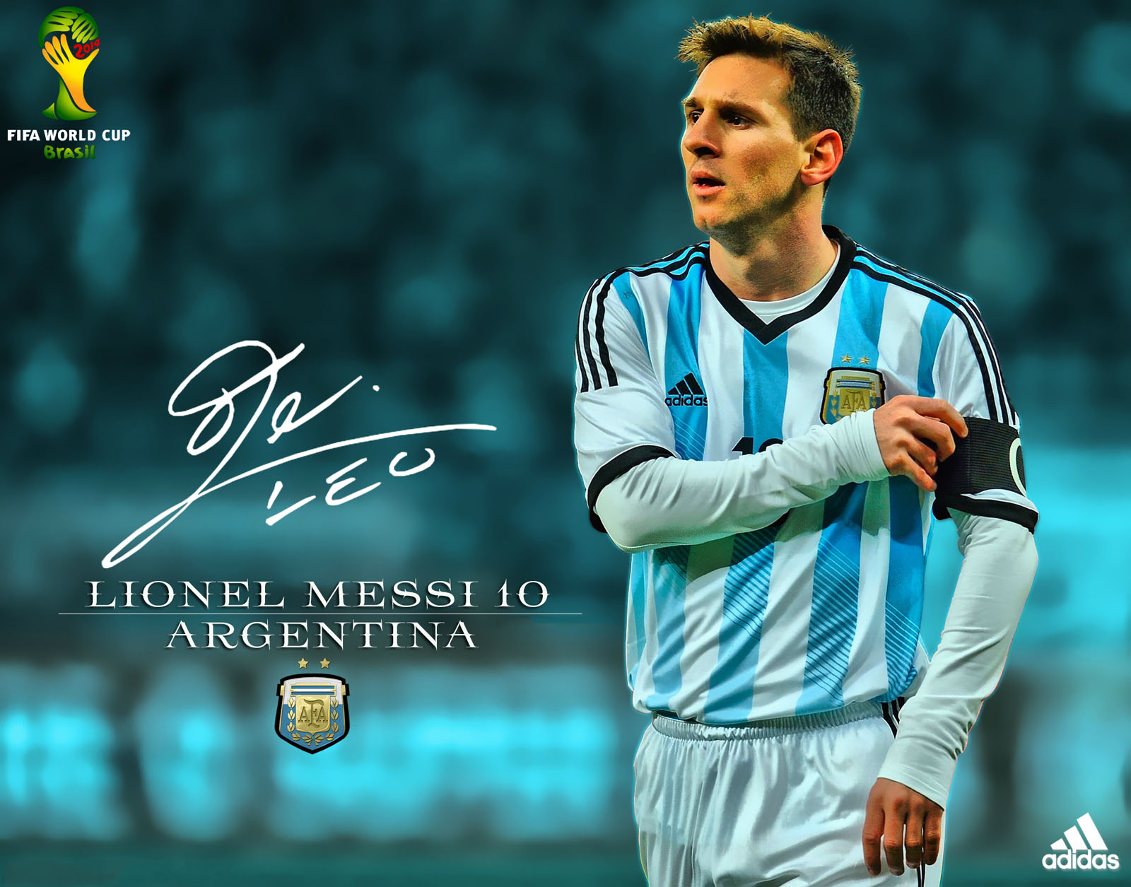 Lionel messi wallpaper 2014 world cup