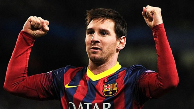 Lionel Messi - FC Barcelona star player