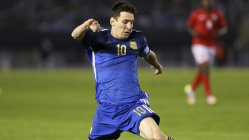 Lionel Messi ready for the World Cup with the Argentina National Team