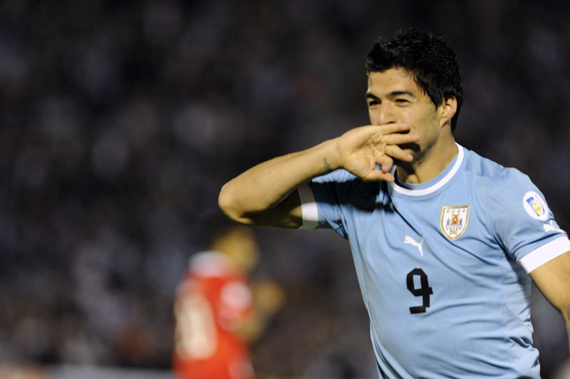 Luis Suárez Uruguay National Team