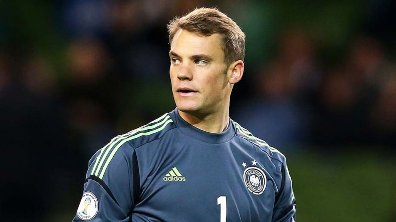 Manuel Neuer, Germany National Team goalkeeper in World Cup 2014