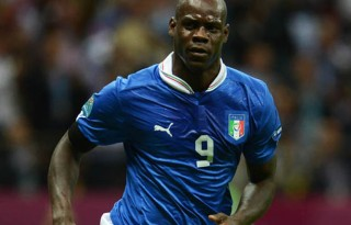Mario Balotelli Italy number 9 at the FIFA World Cup 2014