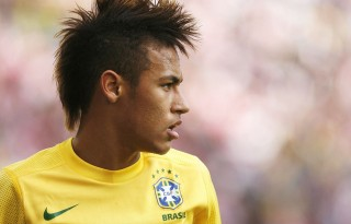 Neymar profile photo with Brazil