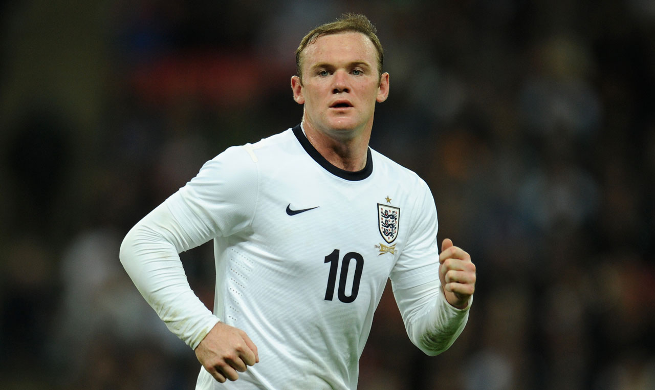Wayne Rooney Number 8 The fastest players in the World according to FIFA