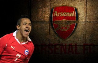 Alexis Sánchez is Arsenal new signing for 2014-2015