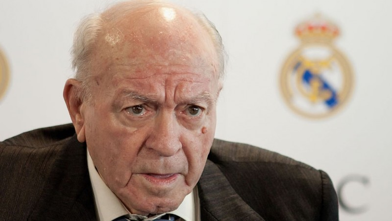 Alfredo Di Stéfano, Real Madrid's honorary president