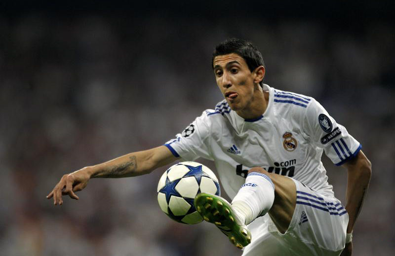 Angel Di María ball control in Real Madrid