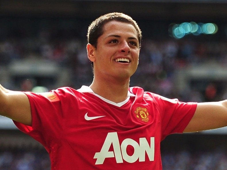 Chicharito Javier Hernández, in Manchester United