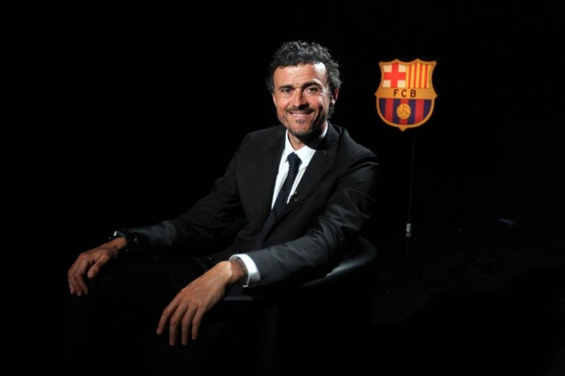 FC Barcelona new manager, Luis Enrique