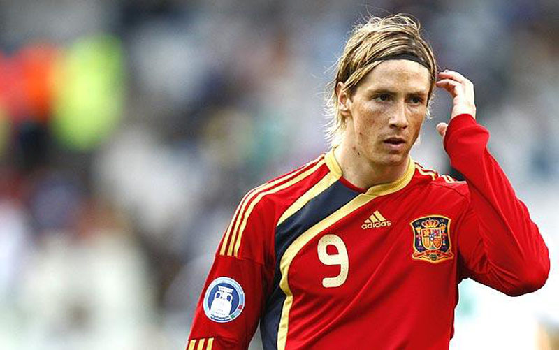 Fernando Torres, Spain National Team striker number 9