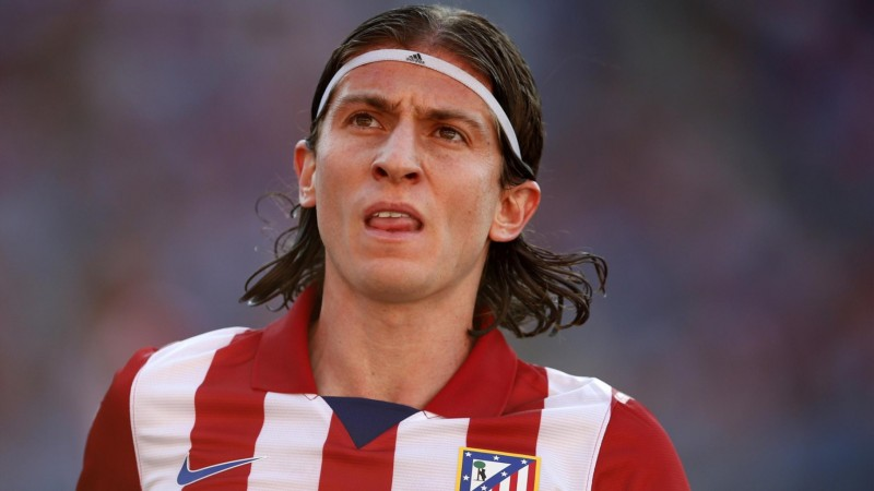 Filipe Luis in Atletico Madrid