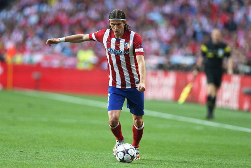 Filipe Luis Atletico Madrid left-back