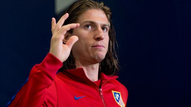 Filipe Luis Brazilian left-back