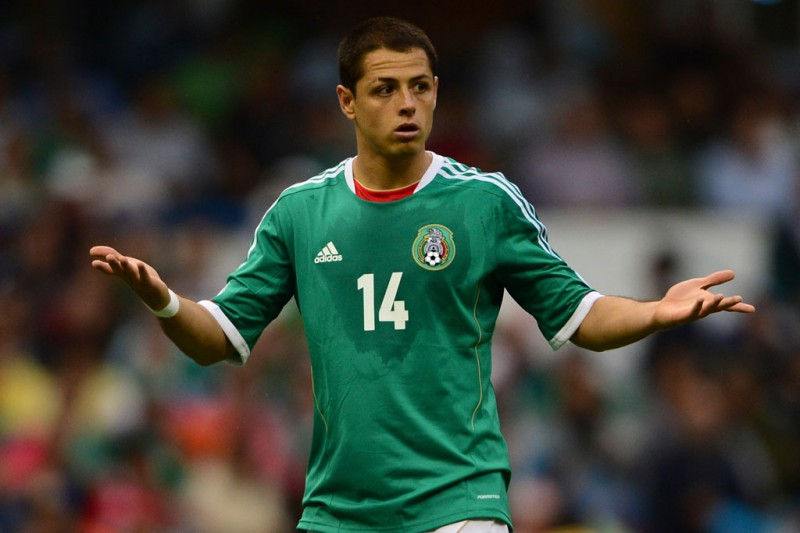 Javier Hernández Chicharito in Mexico National Team