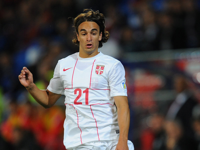 Lazar Markovic, in the Serbia National Team