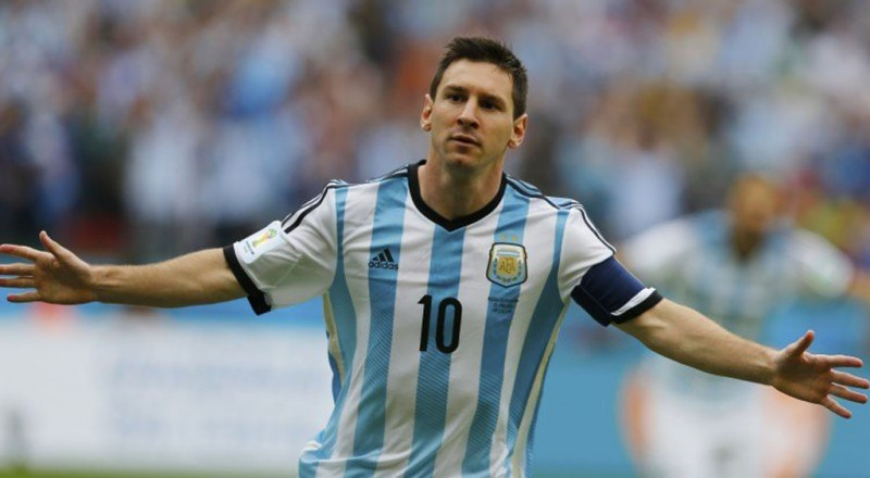 Lionel Messi in Argentina FIFA World Cup 2014