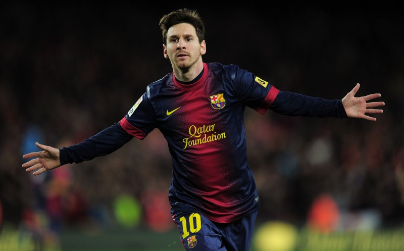 Lionel Messi, FC Barcelona top goalscorer of all-time wallpaper