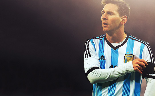 Lionel Messi profile photo for Argentina