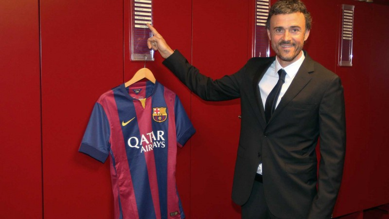 Luis Enrique, FC Barcelona new coach in 2014-15