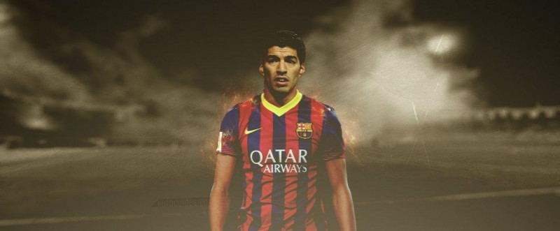 Luis Suárez - FC Barcelona new striker wallpaper