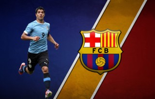 Luis Suarez FC Barcelona player in 2014-2015