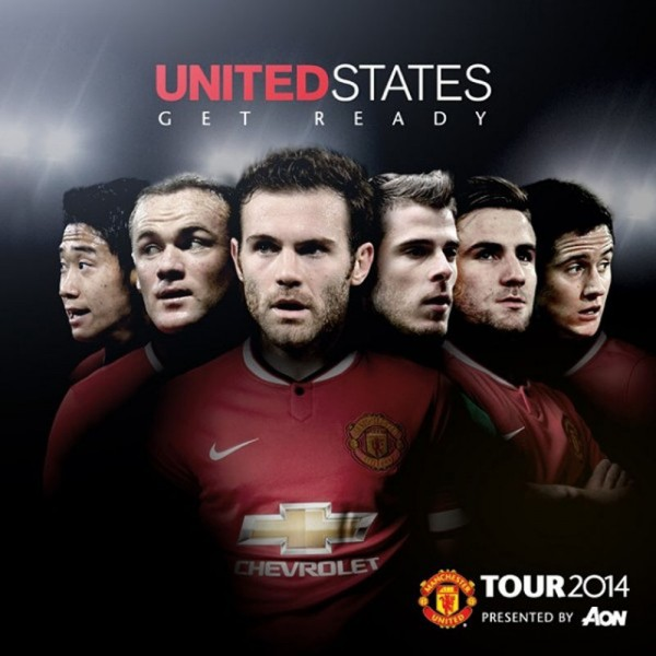 Manchester United, United States pre-season tour in 2014
