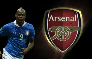 Mario Balotelli, Arsenal 2014-2015