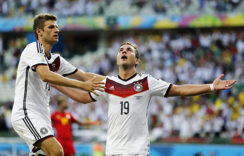 Mario Gotze, Germany in the FIFA World Cup 2014