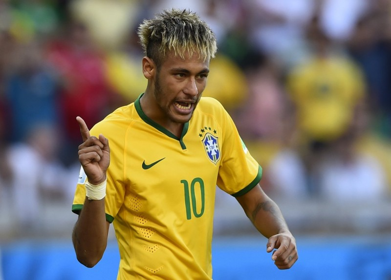 Neymar, Brazil footballer in the 2014 FIFA World Cup