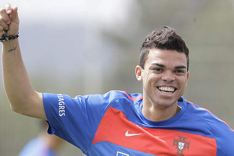 Pepe with a normal haircut