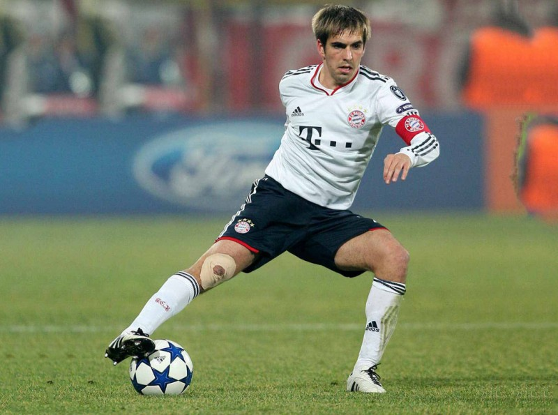 Philipp Lahm, captain of the Germany National Team
