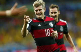 Toni Kroos in Germany 7-1 Brazil, at the FIFA World Cup 2014