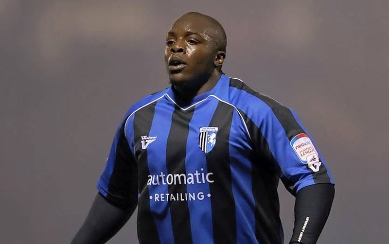 Adebayo Akinfenwa playing in England's second tier leagues