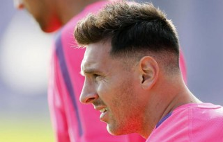 Lionel Messi new haircut and hairstyle in 2014-2015