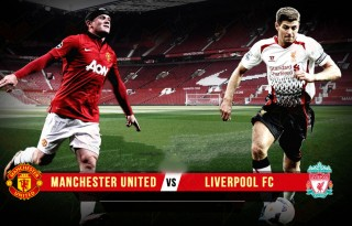 Manchester United vs Liverpool, Rooney vs Gerrard