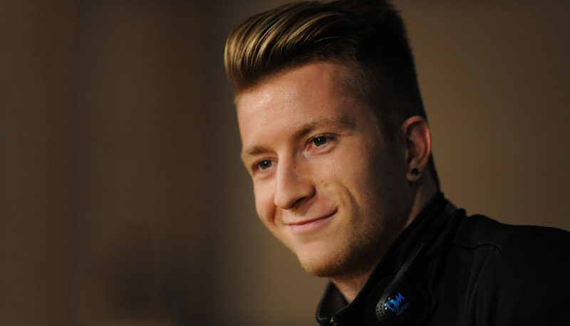 Marco Reus haircut and hairtstyle