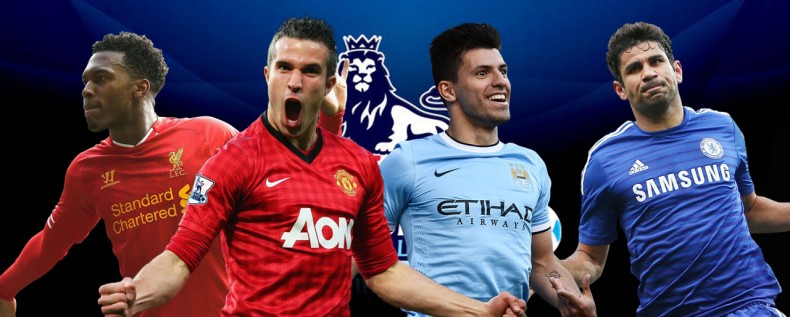 Barclays Premier League top scorers contenders