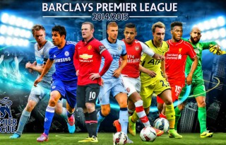 The Barclays Premier League wallpaper 2014-2015