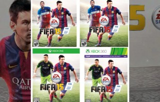 FIFA 15 box covers all platforms