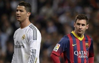 Cristiano Ronaldo vs Messi in El Clasico