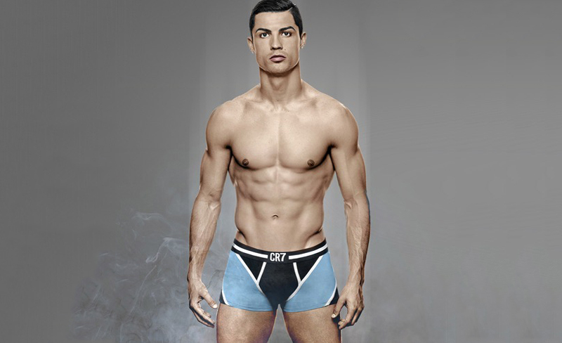 Cristiano Ronaldo underwear photo shoot