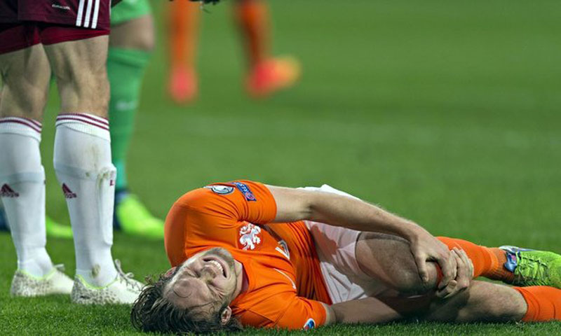 Daley Blind injury for the Netherlands