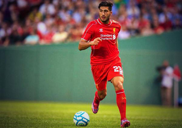 Emre Can, in Liverpool 2014-2015